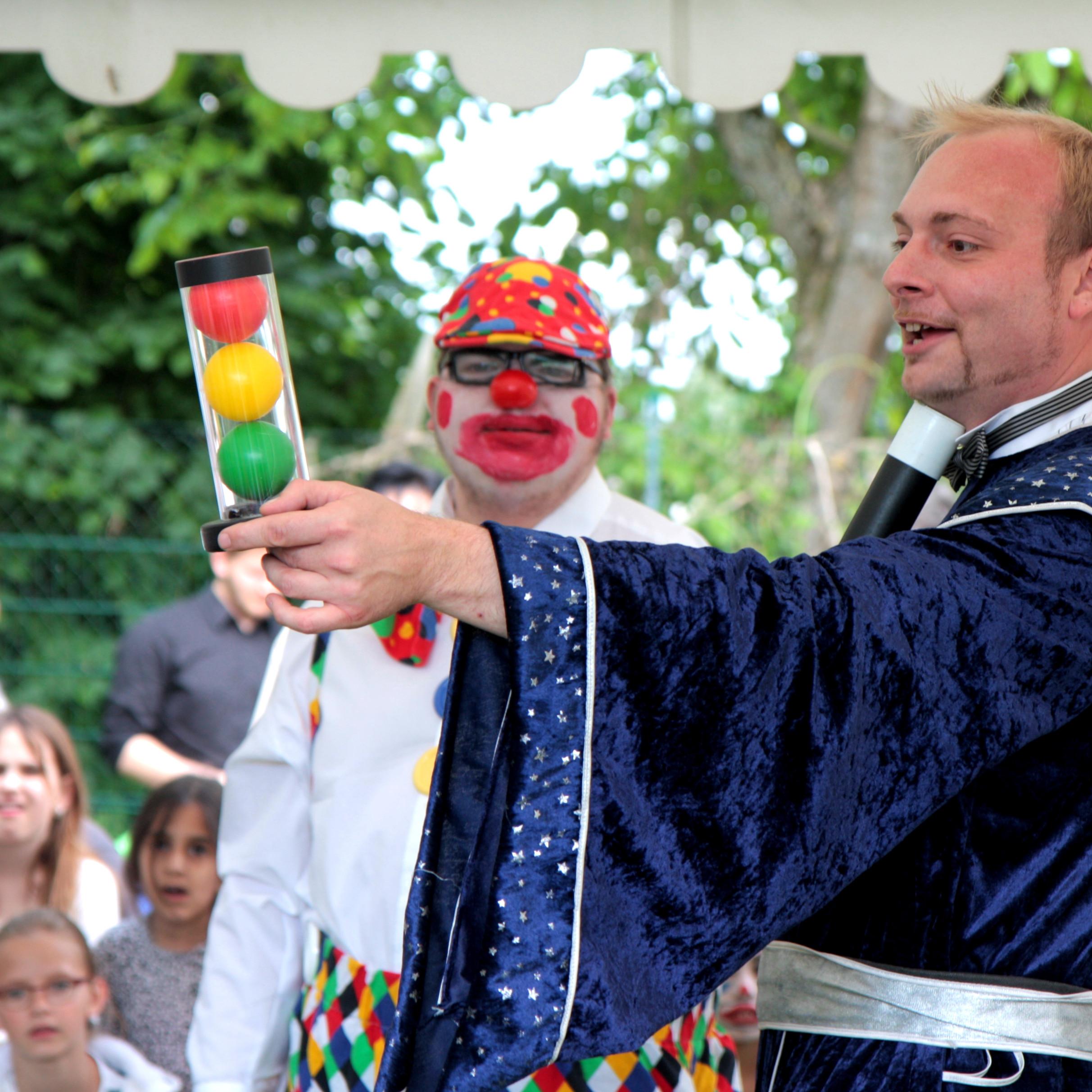 Zaubershow für Kinder - auch im Freien möglch