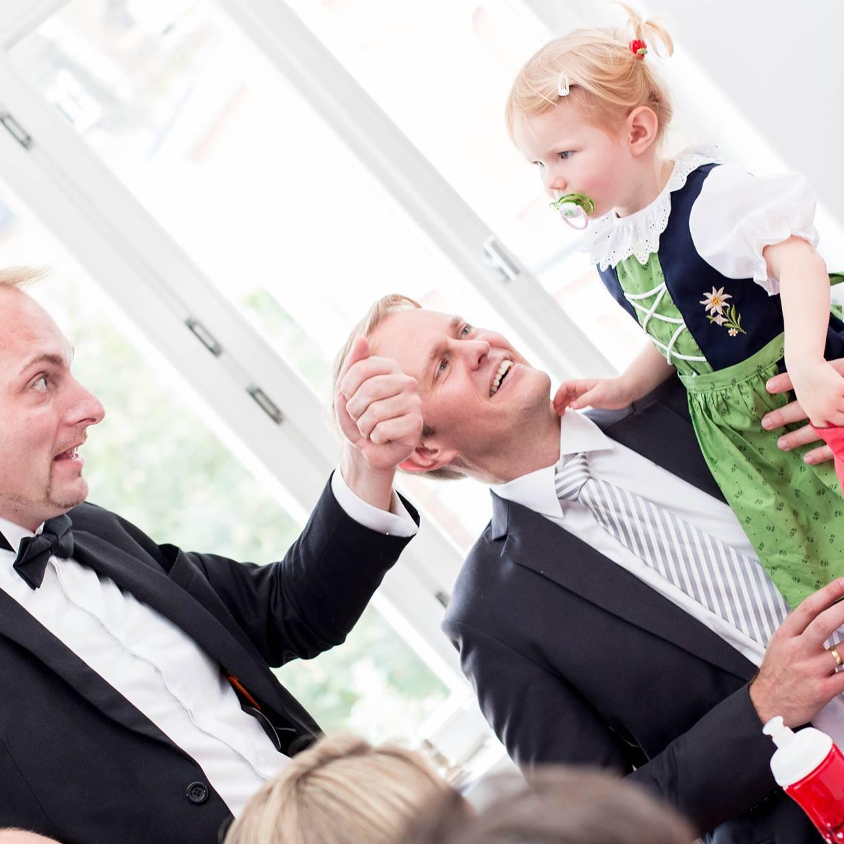 Kinder bei einer Hochzeit werden ganz besonders bezaubert!