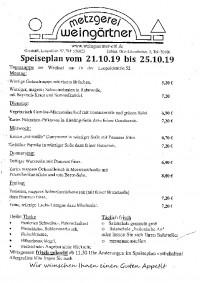 Speiseplan KW 43 - Metzgere...