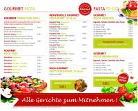 Speisekarte Pizzabar